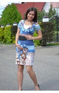 Платье для беременных и кормления - арт. 2101-01