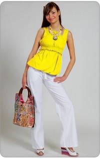 Блуза арт. 440 желтый