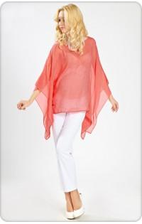 Блуза  - арт 426.4 треугольник красный
