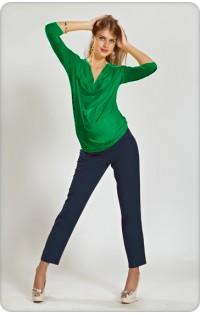 Блуза  - арт V-433 зеленый