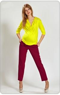 Блуза  - арт V-433 желтый