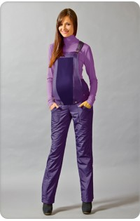 Водолазка утепленная (зима) арт. 456 пурпур