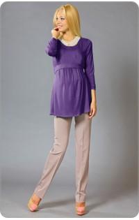 Блуза - арт. 404 фиолетовый