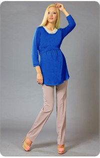 Блуза - арт. 404 василек