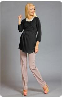 Блуза - арт. 404 черный