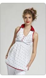 Блузы для беременных лето