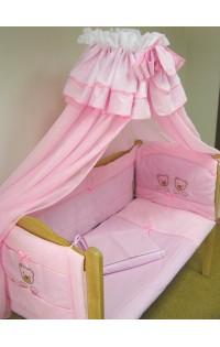 Комплект в кроватку  из 9 предметов - арт.Мишутка