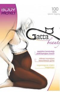 Леггинсы 100 дэн -арт. Gatta BODY  PROTECT -100 caffe