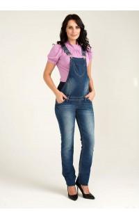 Комбинезон джинсовый (осень-весна)- арт. 2054-4256