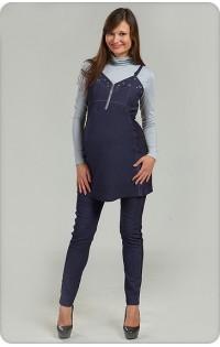 Костюм синяя джинса - арт. 819