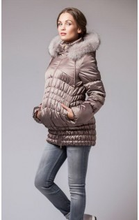 Куртка (зима) - арт. М-900012 - т.бежевый.