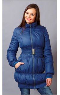 Куртка - трансформер (зима-весна-осень) -  арт. 902 т.синий