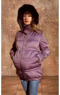 """Куртка  """"Марина"""" сирень (зима)"""
