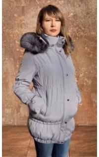 "Куртка  ""Марина"" св.серый (зима)"