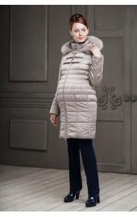 Пальто - арт. Одри - светло-бежевый