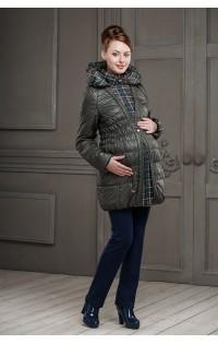 Пальто - арт. Шарлотта - зеленый.