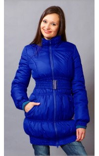 Куртка - трансформер (зима-весна-осень) -  арт. 902 василек
