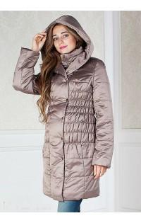 Пальто (зима) - арт. М-900032 - т.бежевый.