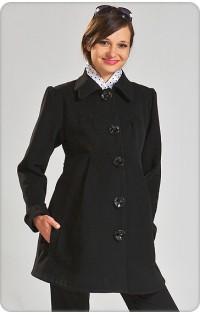 Пальто (осень-весна) - арт. 114 черный