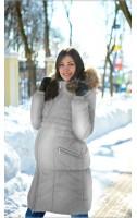 Пальто зимнее  арт. 925 серый