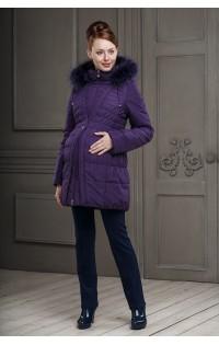 Пальто  (зима) - арт. Клерис - фиолетовый