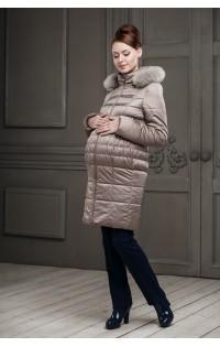 Пальто - арт. Одри - темно-бежевый