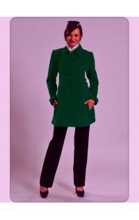 Пальто (осень-весна) - арт. 114 зеленый