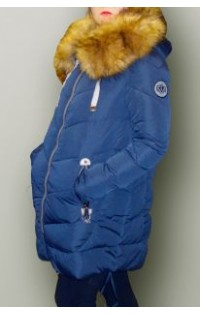 Зимнее пальто - арт. 21-S6 электрик