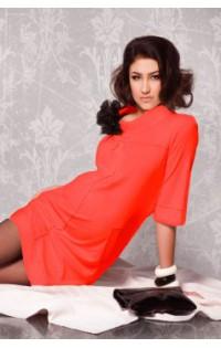 Платье - арт. DI-0970 0529 терракот