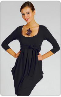 Платье - арт. 636 черное