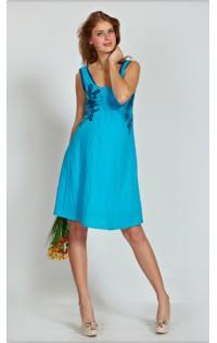 Платье - арт. 651 бирюза