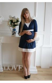 Платье - арт. Анна синий.