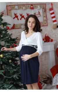 Платье  - арт. Джессика синий