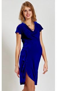 Платье нарядное  - арт. N-667 синее