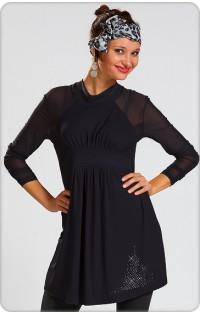 Платье - туника арт. 603 (черный).