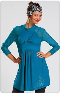 Платье  - туника арт. 603 (бирюза)