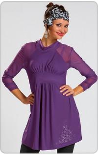 Платье - туника арт. 603 (фиолет)