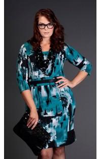 Платье нарядное большие размеры - арт. 12546