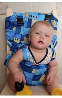 Тотсит - дорожный стульчик - арт. тотсит синий