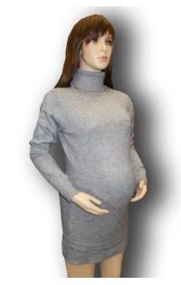 Платье - туника (зима) - арт. 5827 серый