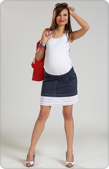 Юбки для беременных фото